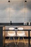 Кухонный стол и 2 стуль Стоковое Изображение RF