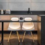 Кухонный стол и 2 стуль Стоковые Изображения RF
