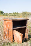 Кухонный шкаф в стране Стоковое Фото