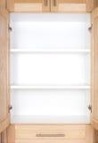 кухонный шкаф пустой стоковые фотографии rf