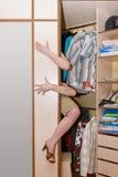 Кухонный шкаф Стоковая Фотография