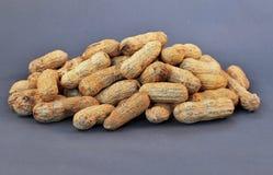 куча арахисов стоковые фото