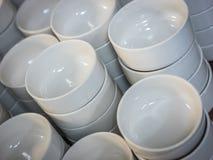 Куча белых малых шаров Стоковые Фотографии RF