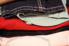 Куча брюк Стоковое Изображение RF