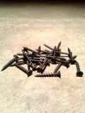 Куча винтов стоковое фото