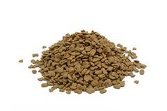 Куча высушенного корма для домашних животных, собачьей еды Стоковая Фотография