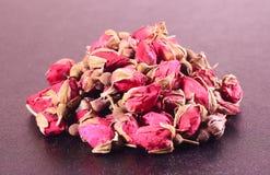 Куча высушенных роз Стоковые Фото