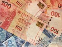 Куча денег долларов Гонконга Стоковые Изображения RF