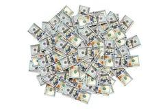 Куча долларовых банкнот Стоковая Фотография RF
