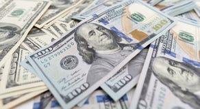Куча долларов как предпосылка Стоковые Фото