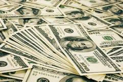 Куча денег Стоковые Изображения