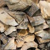 Куча деревянных журналов Стоковое Изображение