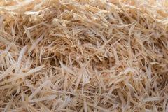 Куча деревянных shavings Стоковые Изображения RF