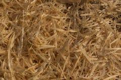 Куча деревянных shavings Стоковые Фото