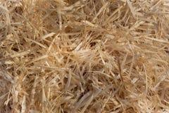 Куча деревянных shavings Стоковые Фотографии RF