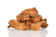 Куча жареной курицы Стоковые Фото