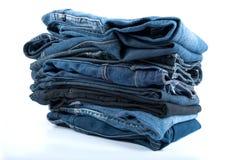 Куча джинсов Стоковые Изображения RF