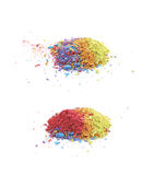 Куча запыленного изолированного пигмента краски Стоковая Фотография RF