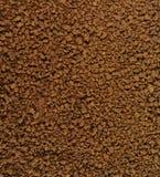 Куча зерен растворимого кофе польза кофе предпосылки готовая Стоковое Изображение RF