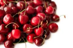 Куча зрелой сладостной вишни Стоковая Фотография
