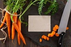 Куча зрелых морковей Стоковая Фотография RF