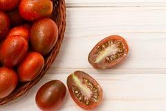 Куча зрелых томатов Стоковая Фотография RF