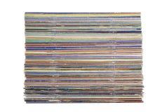 куча кассет стоковое изображение
