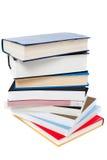 Куча книг аранжированных как башня Стоковые Фотографии RF