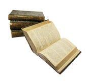 куча книг Стоковые Фотографии RF
