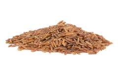 Куча красного риса Стоковые Фотографии RF