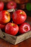 Куча красных яблок Стоковые Изображения