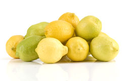 куча лимонов стоковое фото rf