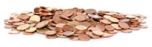 Куча много монеток Стоковая Фотография RF