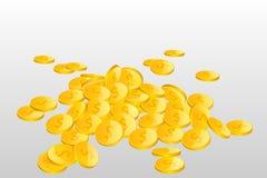 Куча монетки Стоковое Фото