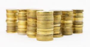 Куча монеток Стоковые Фото
