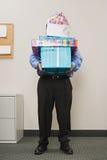 Куча нося человека настоящих моментов Стоковое фото RF