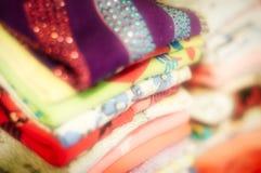 Куча одежды стоковые изображения