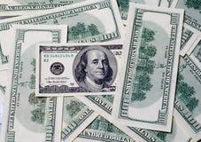 Куча долларов в Соединенных Штатах Америки Стоковое Изображение