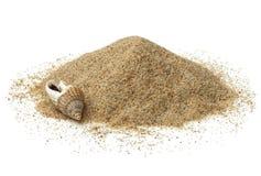 Куча песка пляжа Стоковое Изображение RF