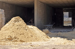 Куча песка стоковые изображения rf