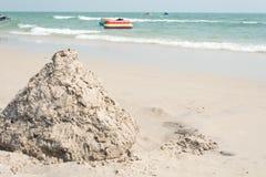 Куча песка стоковые фотографии rf