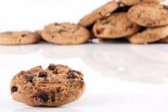 куча печений шоколада обломока Стоковое Изображение RF