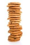 куча печений шоколада обломока Стоковые Изображения RF