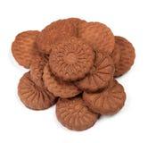 Куча печений шоколада Стоковое Изображение