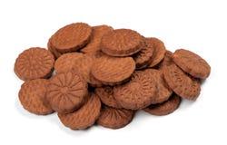 Куча печений шоколада Стоковые Изображения RF