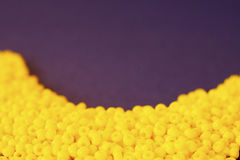 Куча покрашенных шариков Стоковые Фото