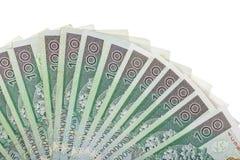 Куча польских счетов Стоковое Изображение
