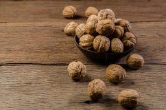 Куча раковины кокоса грецких орехов Стоковые Изображения RF