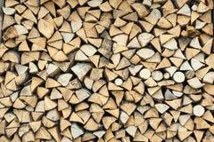 Куча древесины вносит хранение в журнал для индустрии Стоковое фото RF