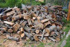 Куча древесины Стоковые Фото